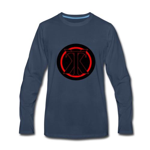 XenoTrader Logo New - Men's Premium Long Sleeve T-Shirt