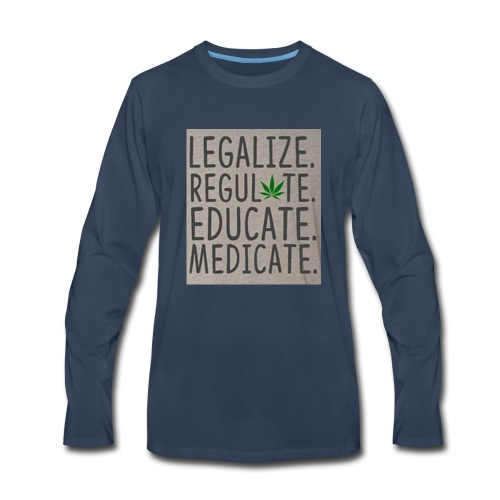 Legalize - Men's Premium Long Sleeve T-Shirt