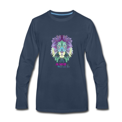 the lion style. - Men's Premium Long Sleeve T-Shirt