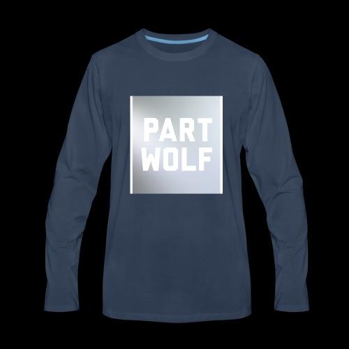 Part Wolf - Men's Premium Long Sleeve T-Shirt