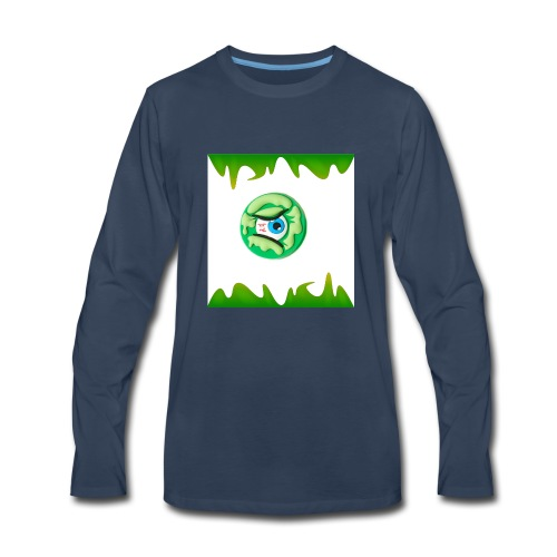 #Odd Slime T-shirt - Men's Premium Long Sleeve T-Shirt
