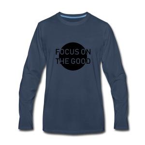 focus on the good - Men's Premium Long Sleeve T-Shirt