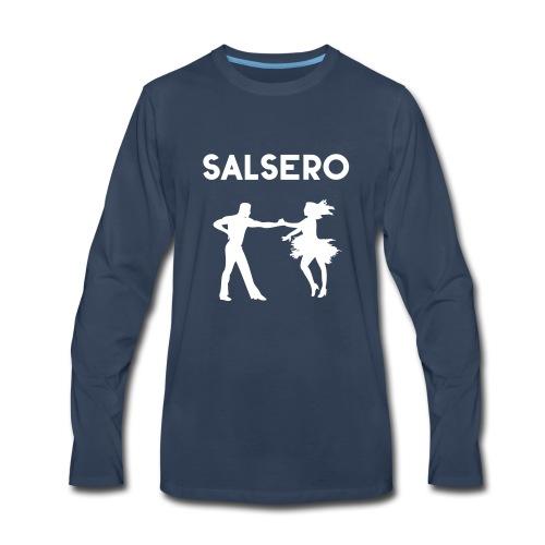 Salsero, Salsa, Latin dancing, bachata, mambo - Men's Premium Long Sleeve T-Shirt