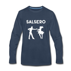 Salsero, Salsa, Latin dancing, bachata, mambo - Men's Premium Long Sleeve T-Shirt