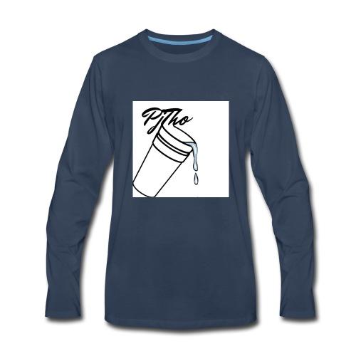 PjTho WhiteOuT - Men's Premium Long Sleeve T-Shirt