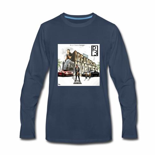p3 mixtape cover - Men's Premium Long Sleeve T-Shirt