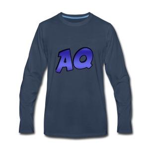 New Text AQ Merchandise! - Men's Premium Long Sleeve T-Shirt