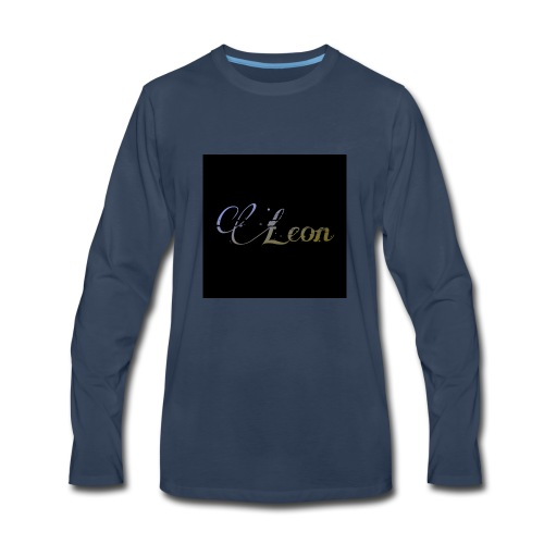 Leon poster Official - Men's Premium Long Sleeve T-Shirt