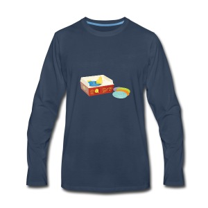 Toy Record Player - Men's Premium Long Sleeve T-Shirt