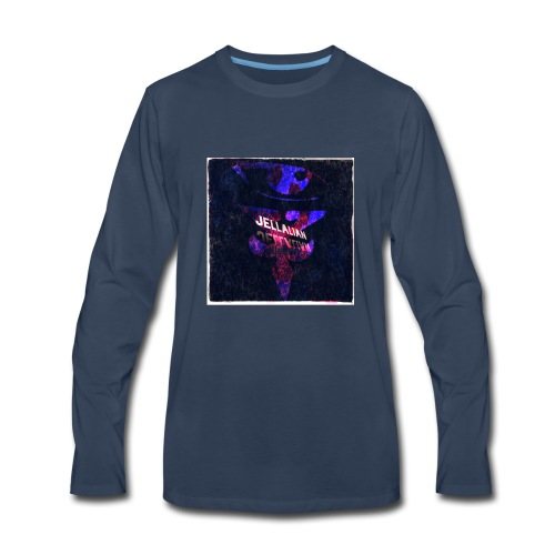 JELLALIAN OFFICIAL(COLOR BLAST EDITION) - Men's Premium Long Sleeve T-Shirt