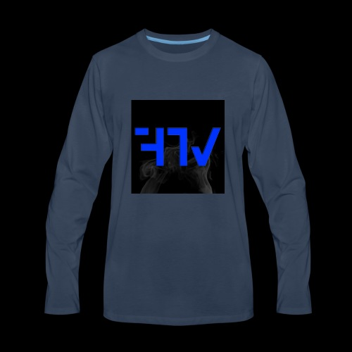 F3ars TV Logo - Men's Premium Long Sleeve T-Shirt