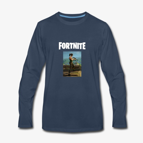 fortnite sniper tee - Men's Premium Long Sleeve T-Shirt
