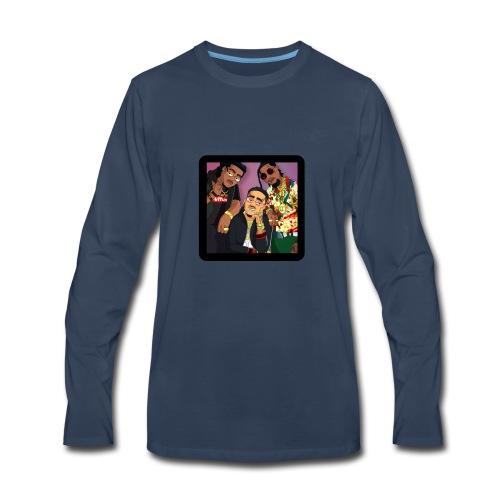 Migos Retro - Men's Premium Long Sleeve T-Shirt