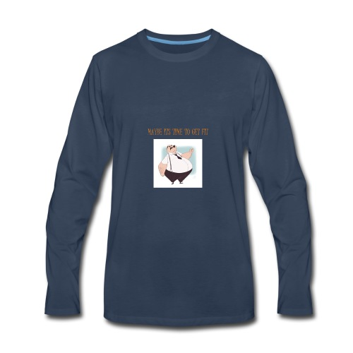Get Fit - Men's Premium Long Sleeve T-Shirt
