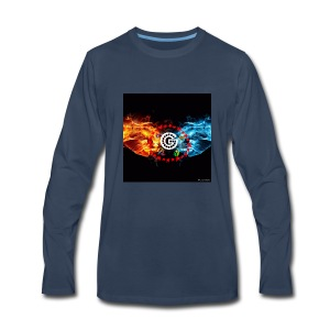 My utube logo - Men's Premium Long Sleeve T-Shirt