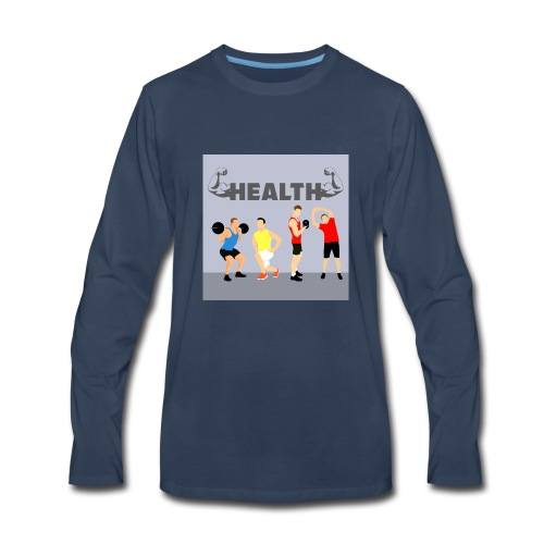 Gym wear present for everyone gift idea - Men's Premium Long Sleeve T-Shirt