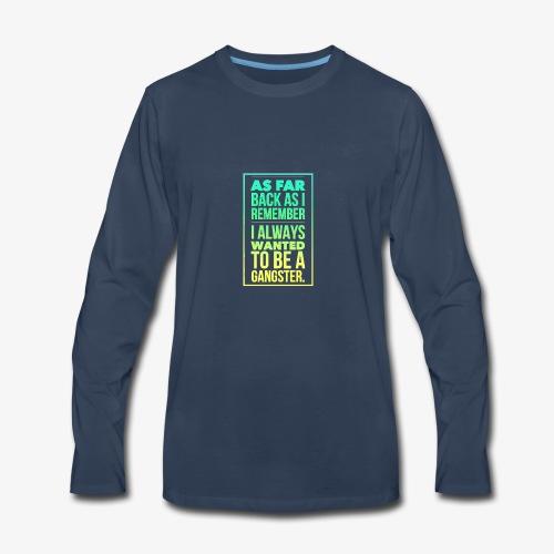 Boys in the hoodie. - Men's Premium Long Sleeve T-Shirt