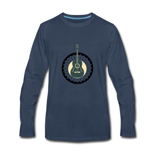 guitar mexican - Men's Premium Long Sleeve T-Shirt