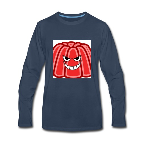 Red jelly kids hoodie - Men's Premium Long Sleeve T-Shirt