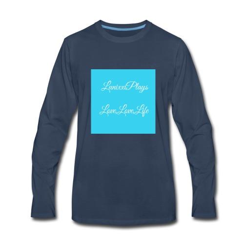 CA3D7307 39A8 4934 9131 86273CC54270 - Men's Premium Long Sleeve T-Shirt