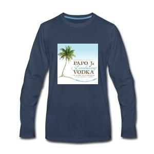 PapoJs Labels Logo - Men's Premium Long Sleeve T-Shirt