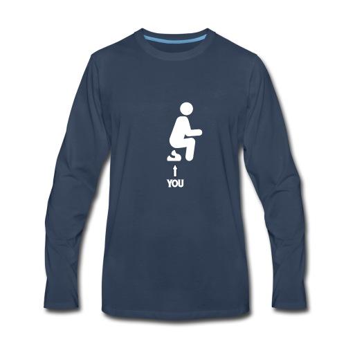 Poop this is you - Men's Premium Long Sleeve T-Shirt