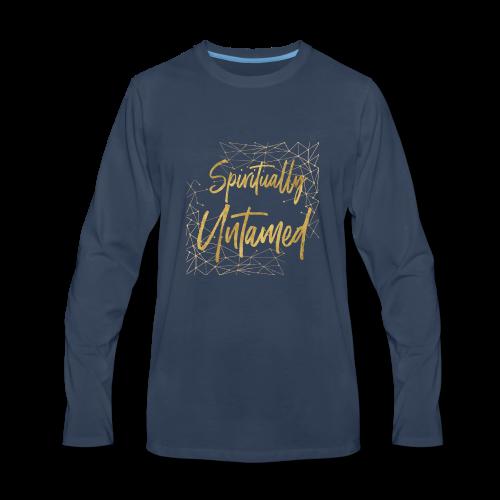 Spiritually Untamed Gold 1 - Men's Premium Long Sleeve T-Shirt