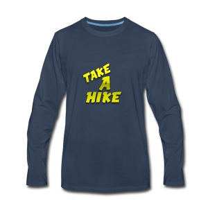 TakeAHike Merch - Men's Premium Long Sleeve T-Shirt