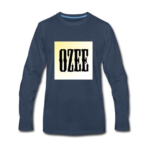 ozee - Men's Premium Long Sleeve T-Shirt