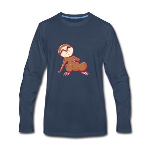 Baby Sloth - Lio - Men's Premium Long Sleeve T-Shirt
