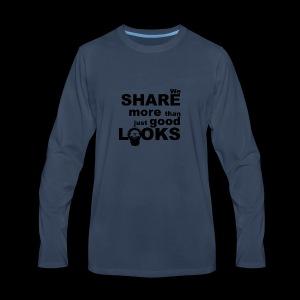 Wild Eskimos share more than just good looks - Men's Premium Long Sleeve T-Shirt