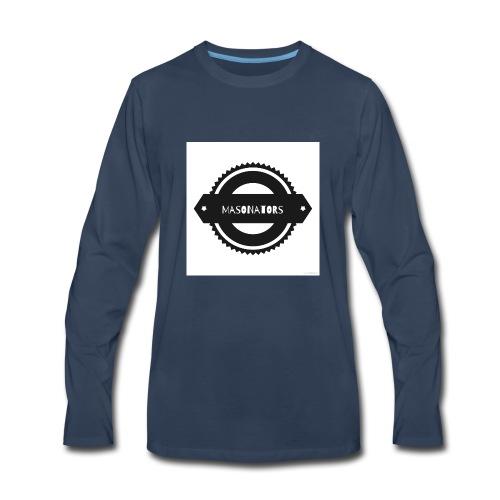 Gear logo - Men's Premium Long Sleeve T-Shirt