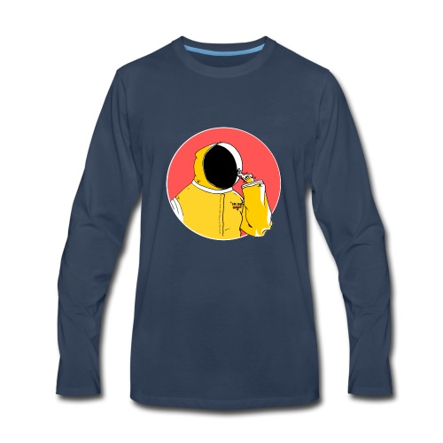 Pizza Folk - Men's Premium Long Sleeve T-Shirt
