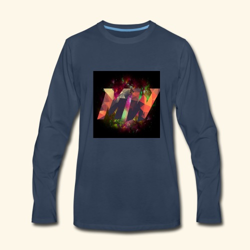 YouTube Icon 2 - Men's Premium Long Sleeve T-Shirt