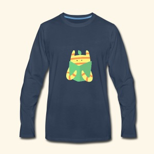 book monster - Men's Premium Long Sleeve T-Shirt