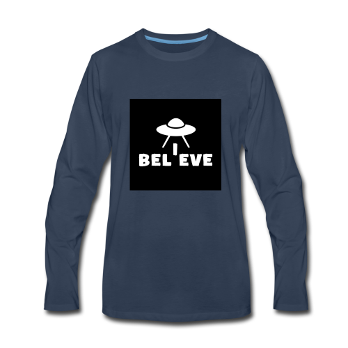 I believe - Men's Premium Long Sleeve T-Shirt