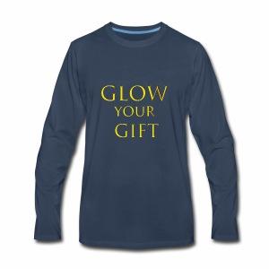 Glow Your Gift - Men's Premium Long Sleeve T-Shirt