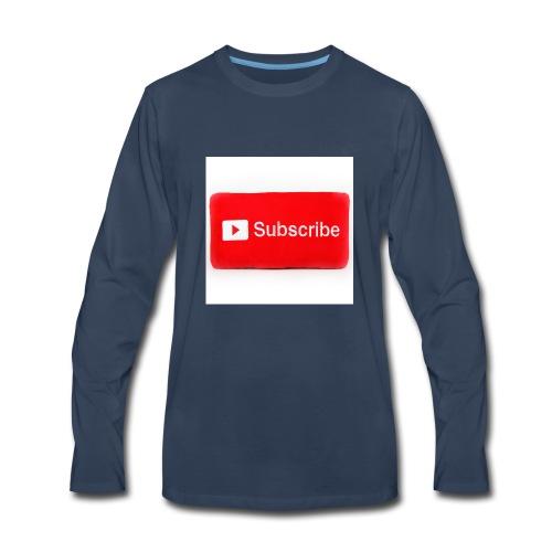 Subscribe T=shirts - Men's Premium Long Sleeve T-Shirt