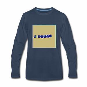 The J SQUAD RAINBOW - Men's Premium Long Sleeve T-Shirt