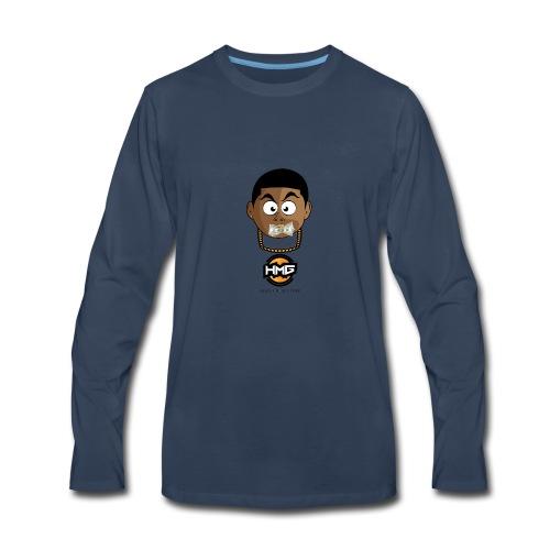 HUNGRY MONEY GANG (HMG) - Men's Premium Long Sleeve T-Shirt