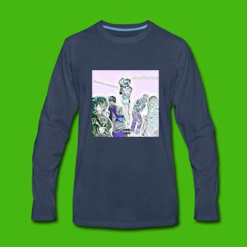 NARLEY BWOY $$$ album cover - Men's Premium Long Sleeve T-Shirt