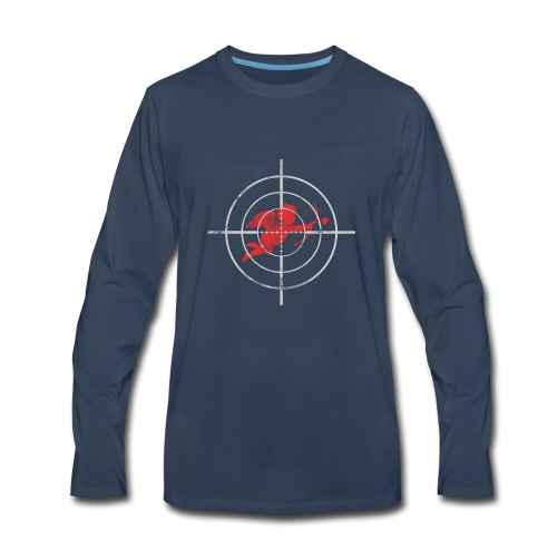 Target Cupid Arrow Target me Valentine's Day gift - Men's Premium Long Sleeve T-Shirt