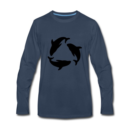 recycle - Men's Premium Long Sleeve T-Shirt