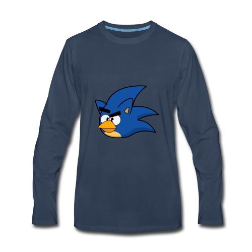 Sonic Angry Bird - Men's Premium Long Sleeve T-Shirt