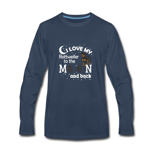I Love My Rottweiler - Men's Premium Long Sleeve T-Shirt