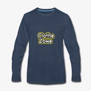 Clothe Zone - Men's Premium Long Sleeve T-Shirt