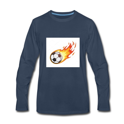 Soccer boys - Men's Premium Long Sleeve T-Shirt