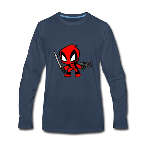 deadpool - Men's Premium Long Sleeve T-Shirt