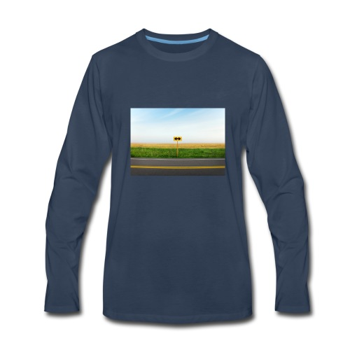 klk; - Men's Premium Long Sleeve T-Shirt