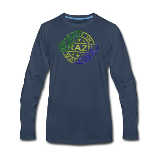 Made In Brazil - Men's Premium Long Sleeve T-Shirt